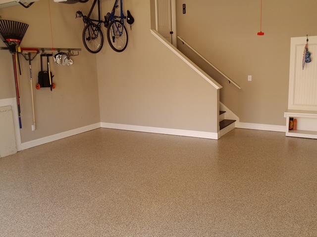 Garage epoxy rogo 39 s finishing touch for Two floor garage