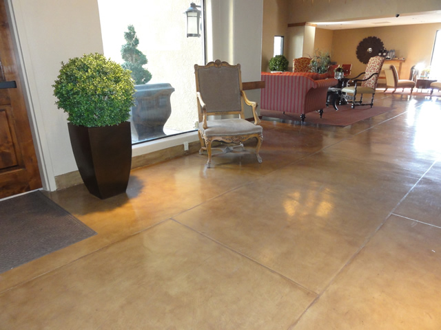 Indoor floors rogo 39 s finishing touch - Interior concrete floor resurfacing ...